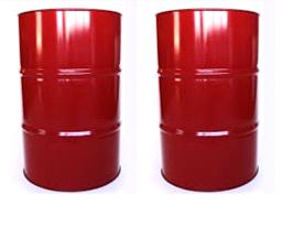 thùng phuy sắt đỏ 200l