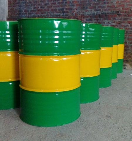 thùng phuy sắt 200l xanh lá cây hcm