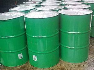 thùng phuy sắt 200l xanh lá cây